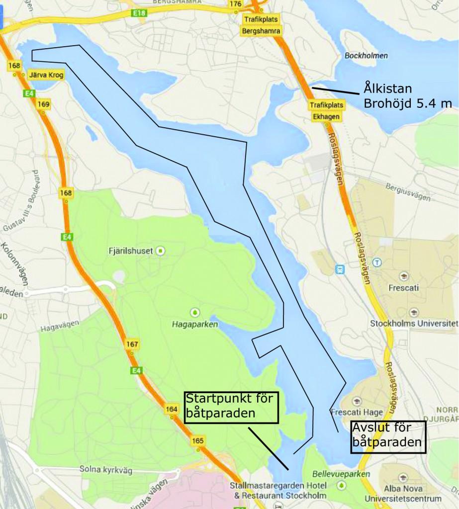Karta Brunnsviken